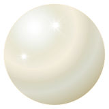 June Birthstone - Pearl Royalty Free Stock Photography