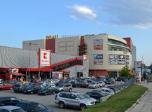 View of the Mall Varna shopping center royalty free stock photo
