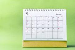Free June Calendar 2021 Royalty Free Stock Photography - 214302787