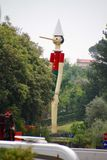 June 09 2015; Collodi, Italy; highest wooden Pinocchio in the world in Collodi, Tuscany Stock Photography