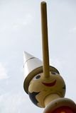 June 09 2015; Collodi, Italy; highest wooden Pinocchio in the world in Collodi, Tuscany Stock Images