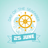 25 june Day of the Seafarer Stock Photo
