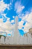June 24, 2015: Fountain near Opera Theatre, Minsk Stock Photography