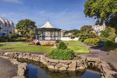 Runnymede Gaedens Ilfracombe North Devon Royalty Free Stock Photography