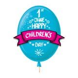 1 june international childrens day background. happy Children day greeting card. kids day poster. 1 june international childrens day background. happy Children stock illustration