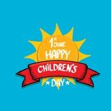 1 june international childrens day background. Happy Children day greeting card. kids day poster vector illustration