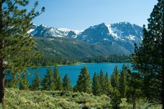 June Lake Loop Stock Image