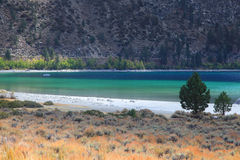 June lake Royalty Free Stock Photo
