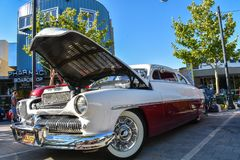 June 8, 2018 Lancaster, Ca. - Classic Car Cruise in royalty free stock photography
