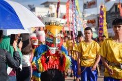 Phi Ta Khon parade Festival 2018 Royalty Free Stock Photo