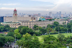 June 11,2017 Manila city hall from  Intramuros, Manila , Philipp Royalty Free Stock Photo