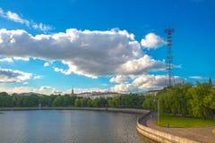 June 24, 2015: Minsk centre, Belarus Stock Photos