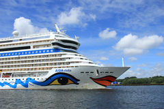 June 22nd, 2014. Velsen; the Netherlands: Aida Stella on North S Stock Photos