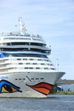 June 22nd, 2014. Velsen; the Netherlands: Aida Stella on North S Royalty Free Stock Photos