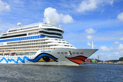 June 22nd, 2014. Velsen; the Netherlands: Aida Stella on North S Stock Image