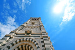 June 3,2016 : Notre Dame de la Garde of Marseille in France. Notre Dame de la Garde of Marseille in France royalty free stock images