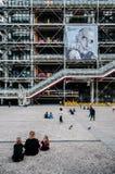 Centre Georges Pompidou Paris France Stock Photography