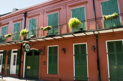 JUNE 2016 : Pat O'Brien's in New Orleans, Louisiana Royalty Free Stock Images