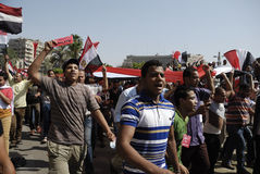 30 June Protests Against Morsi & Muslim Brotherhoo Royalty Free Stock Image