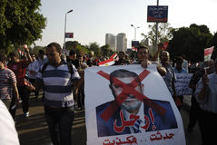 30 June Protests Against Morsi & Muslim Brotherhood Royalty Free Stock Photography