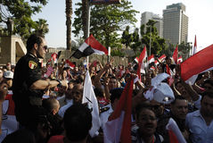 30 June Protests Against Morsi & Muslim Brotherhood Royalty Free Stock Images