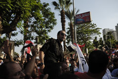 30 June Protests Against Morsi & Muslim Brotherhood Royalty Free Stock Photo