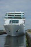 June 13rd, 2014. IJmuiden: Costa Neo Romantica in dock on journe Royalty Free Stock Photography