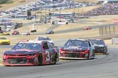 NASCAR: June 24 TOYOTA/SAVE MART 350. June 24, 2018 - Sonoma, California , USA: Austin Dillon 3 Races through turn ten at the TOYOTA/SAVE MART 350 at Sonoma Royalty Free Stock Images