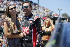 NASCAR: June 24 TOYOTA/SAVE MART 350. June 24, 2018 - Sonoma, California , USA: Kurt Busch 41 gets ready for the TOYOTA/SAVE MART 350 at Sonoma Raceway in Sonoma Stock Images