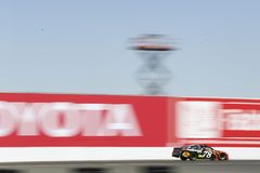 NASCAR: June 24 TOYOTA/SAVE MART 350. June 24, 2018 - Sonoma, California , USA: Martin Truex, Jr 78 races for the TOYOTA/SAVE MART 350 at Sonoma Raceway in Royalty Free Stock Photo