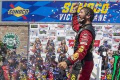 NASCAR: June 24 TOYOTA/SAVE MART 350. June 24, 2018 - Sonoma, California , USA: Martin Truex, Jr 78 wins the TOYOTA/SAVE MART 350 at Sonoma Raceway in Sonoma Stock Photography