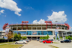 June 20, 2014. The stadium is the home field of the NFL's Tennes Royalty Free Stock Photography