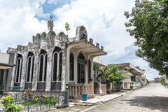 June 11, Taoist temple at Manila Chinese Cemetery , Manila , Phi Stock Photography