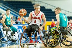 World Wheelchair Basketball Championship Royalty Free Stock Photos
