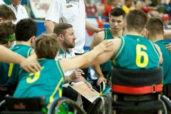 World Wheelchair Basketball Championship Royalty Free Stock Images