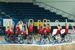 World Wheelchair Basketball Championship Stock Image