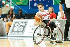World Wheelchair Basketball Championship Stock Images