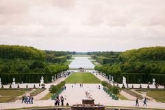 Garden of Versailles palace Royalty Free Stock Image