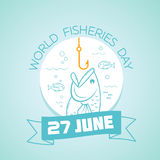 27 june World Fisheries Day Stock Photography