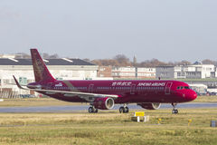 Juneao Airlines A321 Stock Photos