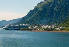 Juneau, Аляска Стоковые Фото