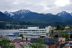 Juneau, Alaska Royalty Free Stock Photography