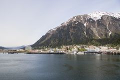 Juneau Alaska Stock Photo