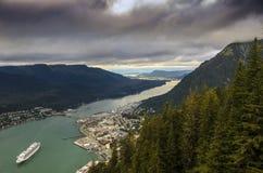 Juneau Alaska Immagini Stock Libere da Diritti