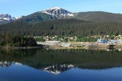 Juneau Alaska Fotografie Stock
