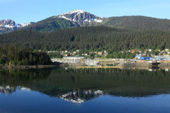 Juneau Alaska Stock Foto's