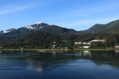 Juneau Alaska Lizenzfreies Stockfoto