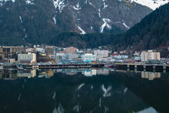 Juneau Alaska fotografía de archivo libre de regalías