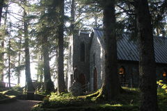 Juneau Alaska - Church, City and Landscapes Royalty Free Stock Photo
