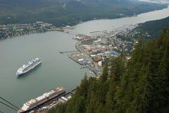 Juneau Alaska Etats-Unis Images libres de droits